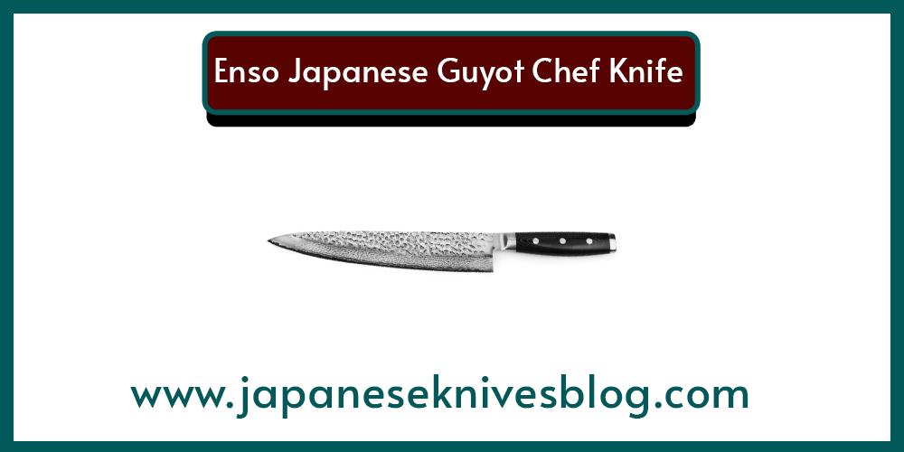 Enso Japanese Guyot Chef Knife