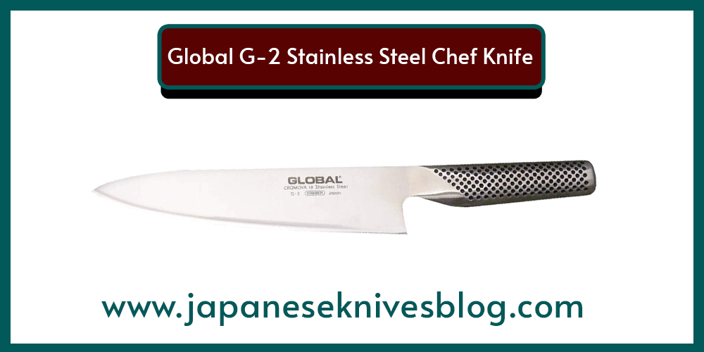 Global G-2 Stainless Steel Chef Knife