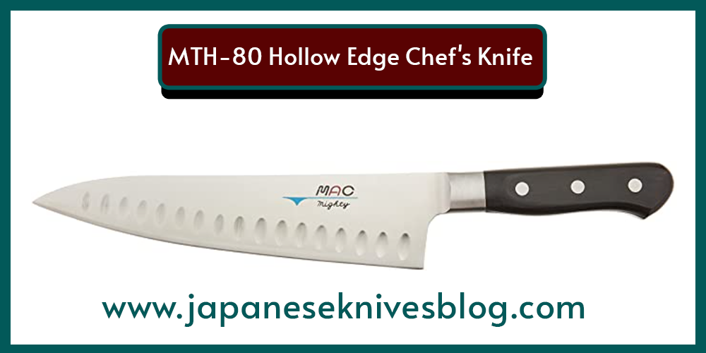 MTH-80 Hollow Edge Chef's Knife