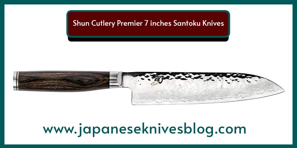 Shun Cutlery Premier 7 inches Santoku Knives