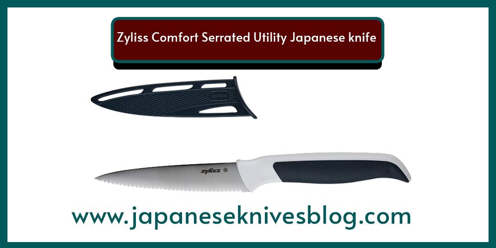 Zyliss Comfort Serrated Utility Japanese knife