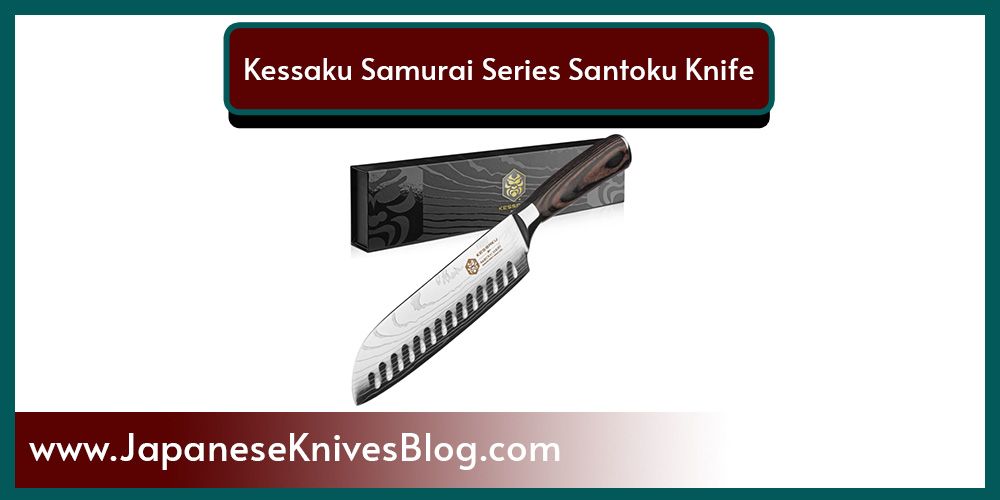 Kessaku Samurai Series Santoku Knife