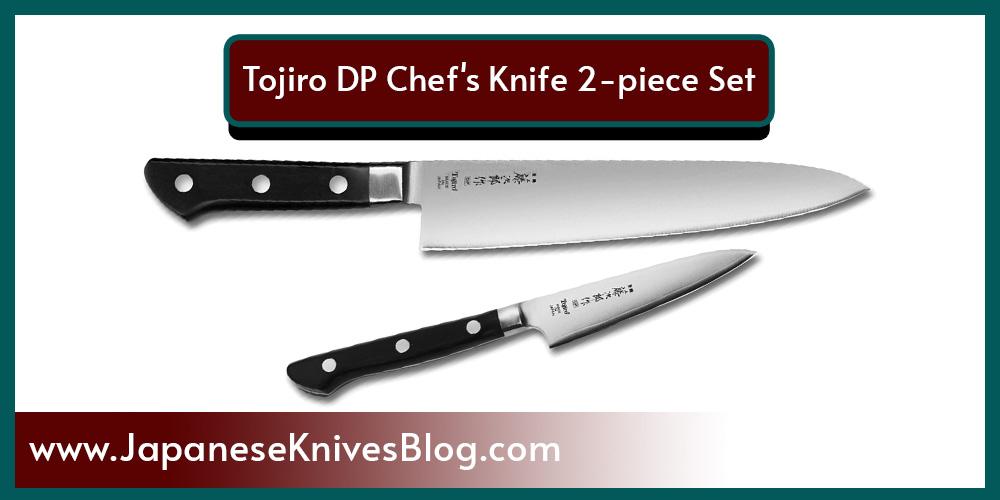 Tojiro DP Chef's Knife 2-piece Set