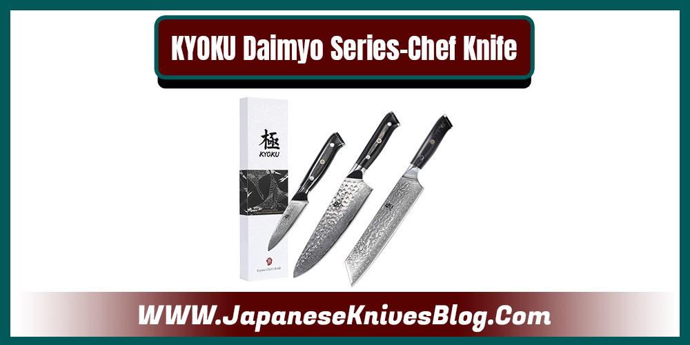 KYOKU Daimyo Series-Chef Knife