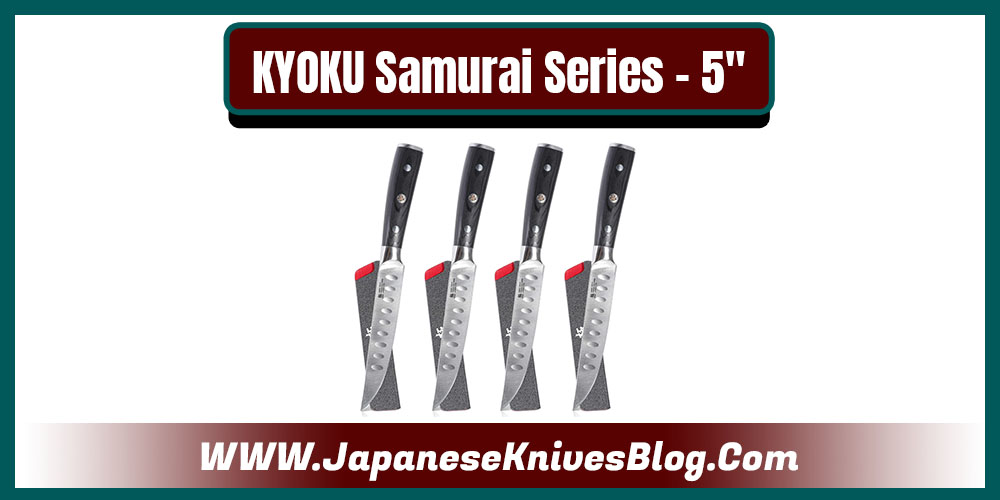KYOKU Samurai Series 5 inches